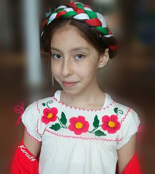 mexican hair braiding styles milk braid with ribbon mexican style in for 6153