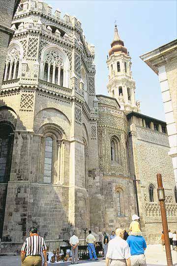 Catedral de La Seo  Zaragoza  Spain