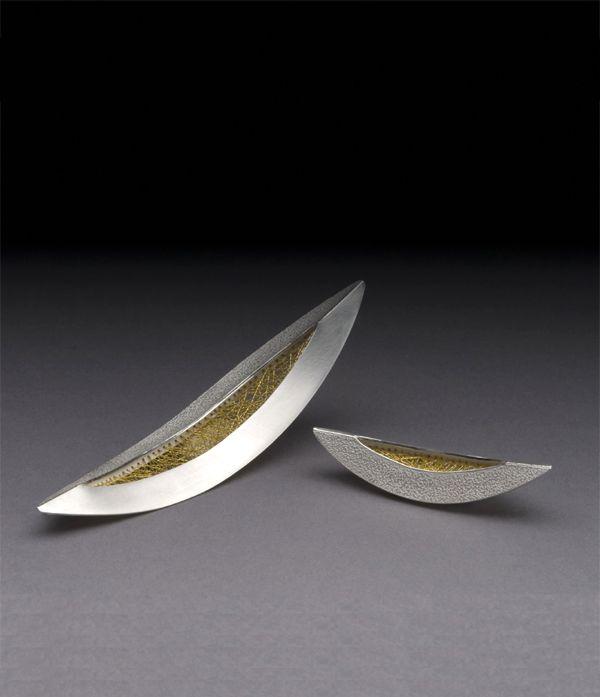JAESUN WON-KR/USA  - Brooch Sterling silver, 14k yellow goldhttp://www.jaesunwon.com/Jewelry_conceptual_6.html