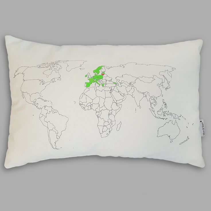 11 best world map pillow images on pinterest travel traveling and world map pillow gumiabroncs Images