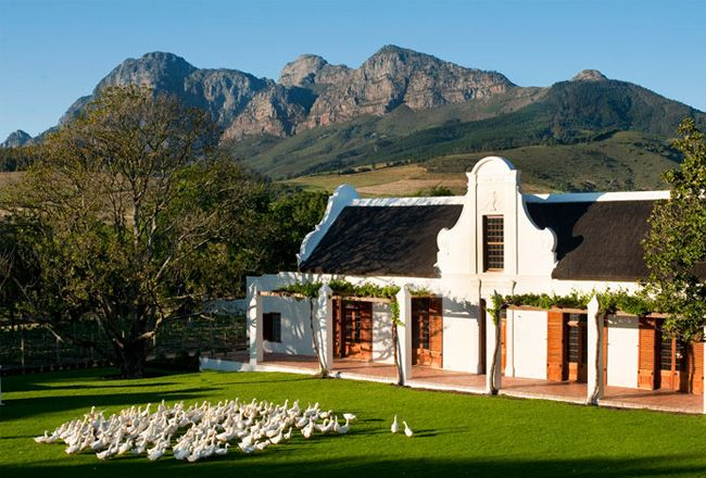Babylonstoren Farm. Cape Dutch Love