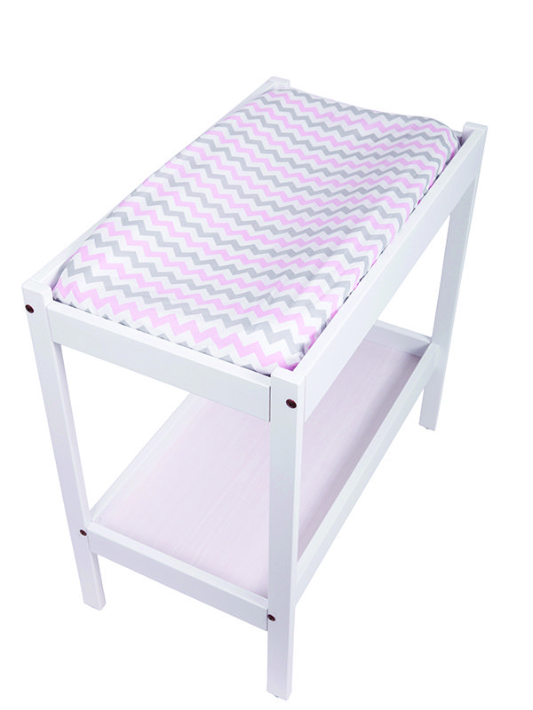 Change Table Mat Cover- Chevron Pink
