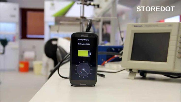 Charging Smartphone in 30 sec