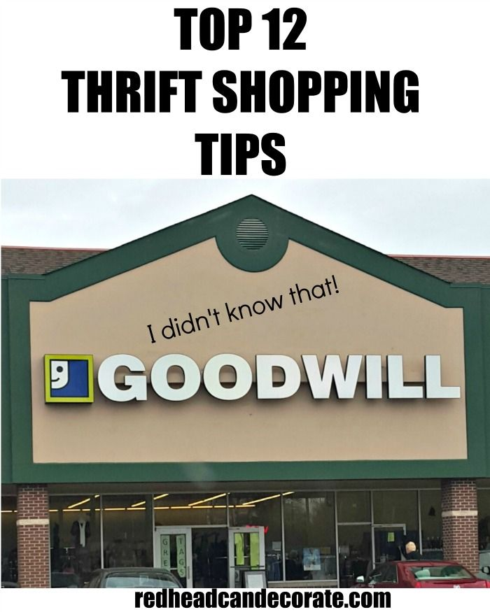 -Goodwill receives Target items in the store on Thursdays and Saturdays (not just clothes).