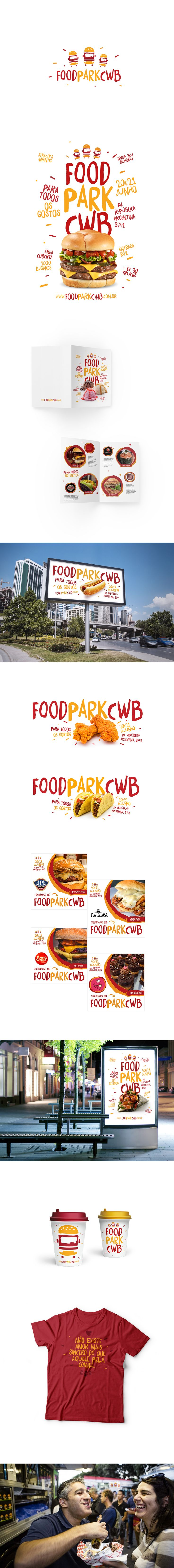Identidade visual criada para festival de food truck.