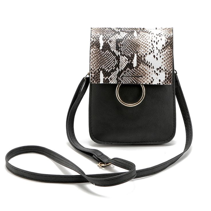 Serpentine women mini bags with Snakeskin women messenger bags Mobile phone and change special bag ME676