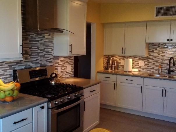 Photo of White Kitchen project in Huachuca City, AZ by Mr. Fix It of Sierra Vista, LLC