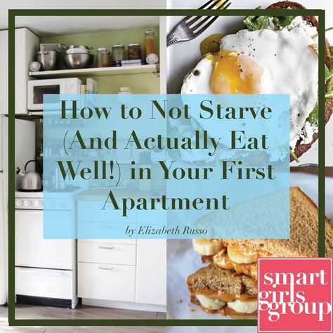 Eat well in your first apartment