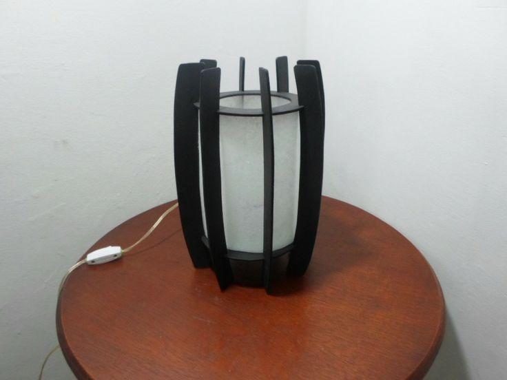 Lámparas De Mesa Artesanales. Bellísima Performance - BsF 1.200,00 en MercadoLibre