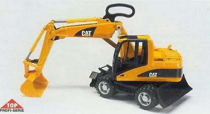 02446 - Bruder Caterpillar Small Excavator High Impact ABS