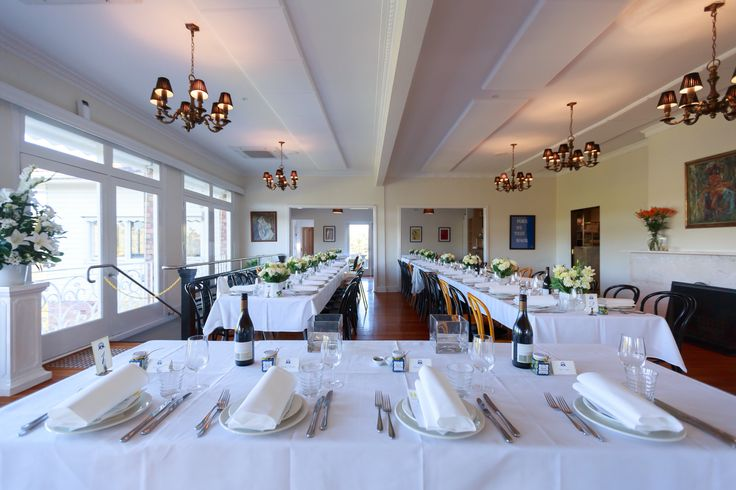 The Grand Dining shines bright on a sunny afternoon at the Farm