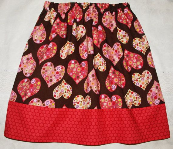 Girls skirt pattern ($5.00) by berrykidz. Sizes 1-10. This easy to sew skirt has an elastic waist and a contrasting bottom band. Can be made for summer or winter, depending on fabrics.