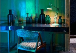 Inject some colour into your home with dramatic emerald green