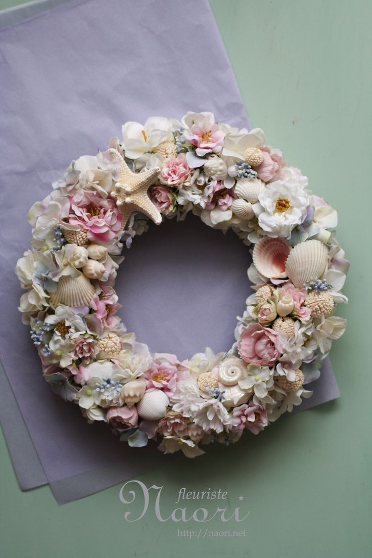 shell wreath...very pretty