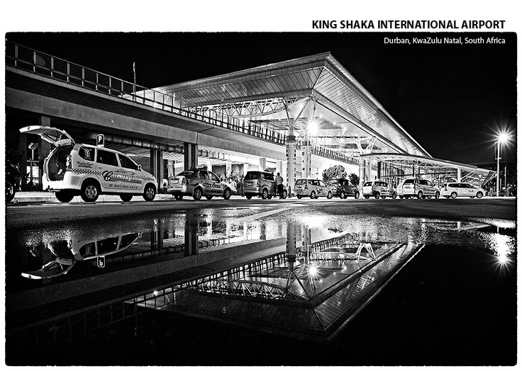 The airport back home- King Shaka