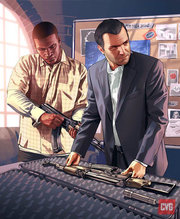 News: GTA V: new character concept art - ComputerAndVideoGames.com