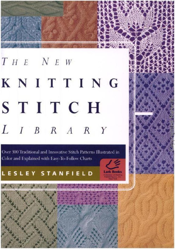 Knitting Pattern Stitch Library : 17+ best images about Stitching Books on Pinterest ...
