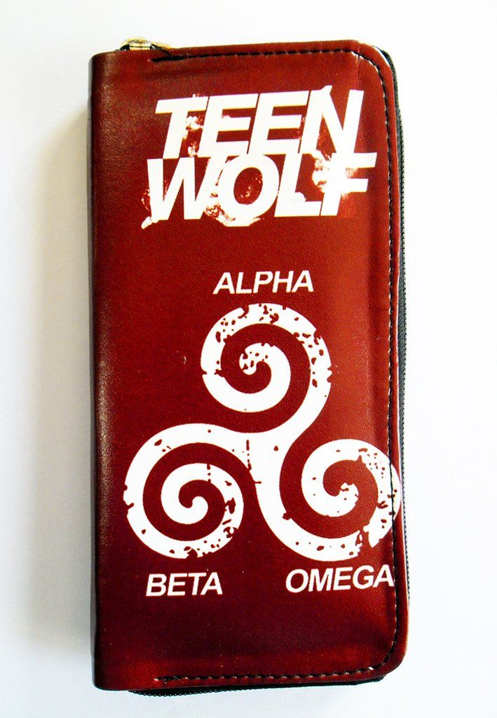 TEEN WOLF ALPHA BETA OMEGA CLUTCH