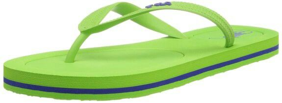 Ralph Lauren Men's Polo Flip-Flops Lime Green