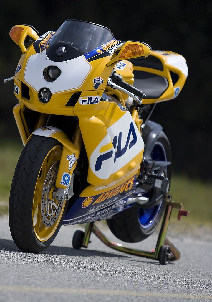 Ducati 999R Fila race replica