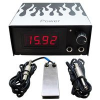 1set Tattoo Power Supply Kit Cheap Tattoo Power Supply Foot Pedal Switch…