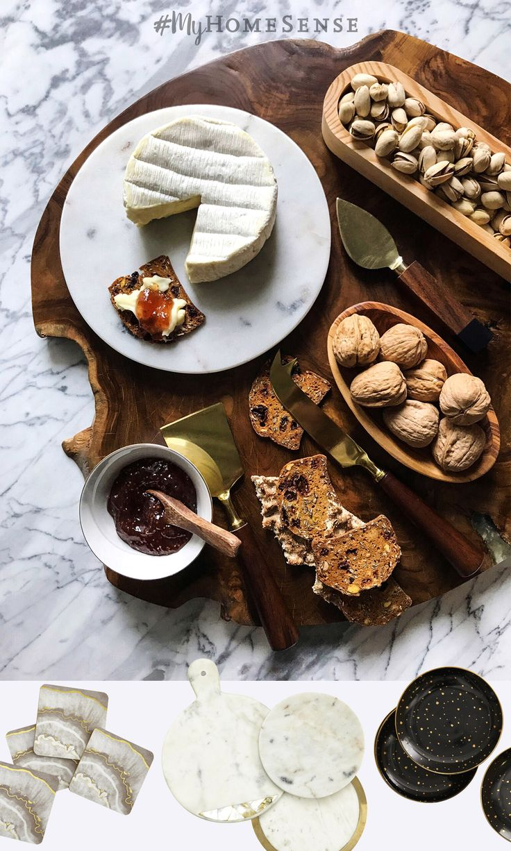 From wood cheese boards to gourmet eats, #MyHomeSense has you covered for all your entertaining ideas and treats! See our Store Locator to find a HomeSense near you and confirm our holiday hours.
