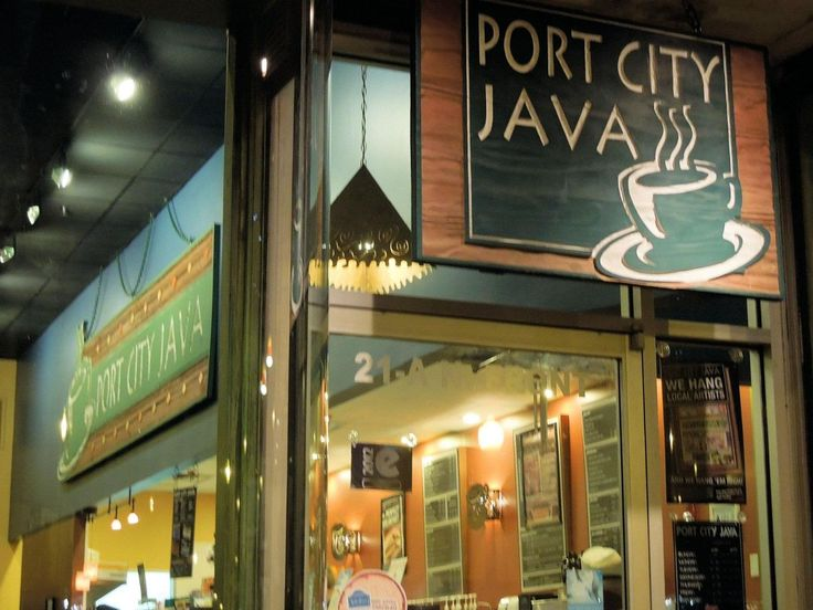 Port City Java Downtown Wilmington, NC. This is where Karen's Cafe and Clothes over Bros was filmed on One Tree Hill.