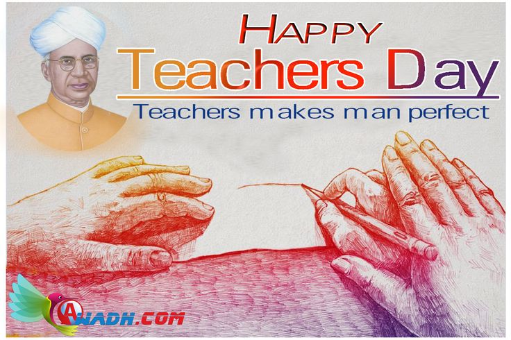 #India celebrates #Teachers #Day in memory of Dr. #Sarvepalli #Radhakrishnan's whose birthday falls on September 5, 1888. He was a renowned, academic philosopher and India's Second President. Dr. Radhakrishnan was a strong supporter of #education. Instead of celebrating his birthday separately he requested to observe the day as Teachers' Day to give honor to all the #Teachers in India. #Happy #Teachers #Day 2015 http://awadh.com/