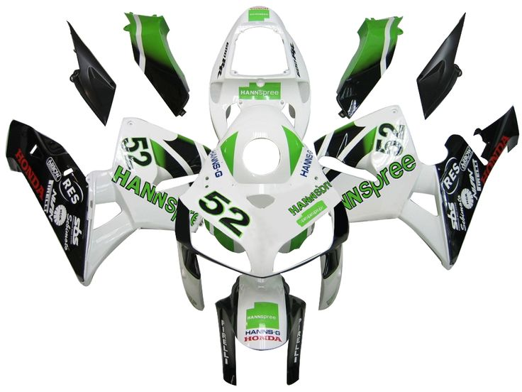 Mad Hornets - Fairings Honda CBR 600 RR White No.52 Hannspree Racing (2005-2006), $449.99 (http://www.madhornets.com/fairings-honda-cbr-600-rr-white-no-52-hannspree-racing-2005-2006/)