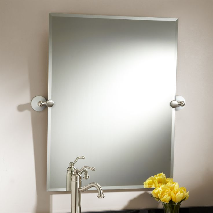 32 Marietta Rectangular Tilting Mirror Oil Rubbed Bronze Code 112538 Two Sizes Available