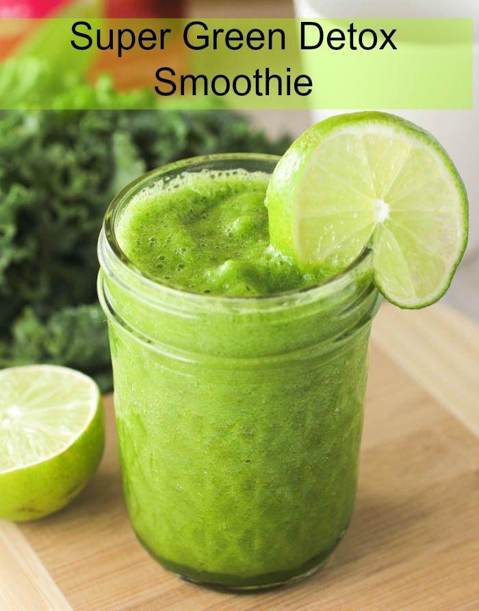Super Green Detox Smoothie