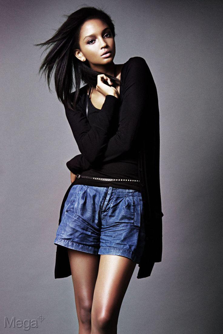 crystal-black-babes: Jessica White - Skinny Black Girl in