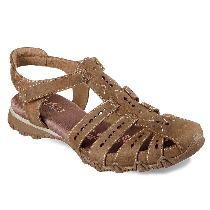 Skechers Bikers Hikers Women's Sandals, Size: 7.5, Yellow Oth
