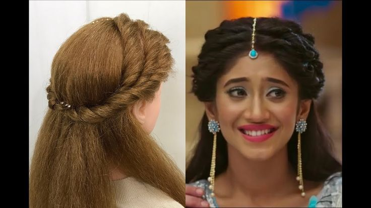 Hairstyle For Kids Girls Indian Wedding In 2020 Wedding Hairstyles For Girls Hair Styles Easy And Beautiful Hairstyles