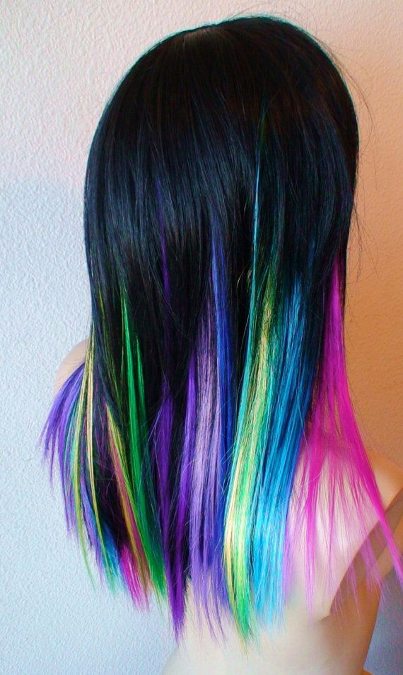 78 best colorful wigs images on pinterest hair hairstyles and kekewig collection 2012 color black hair with pink lavenderpurple blue turquoise pmusecretfo Gallery