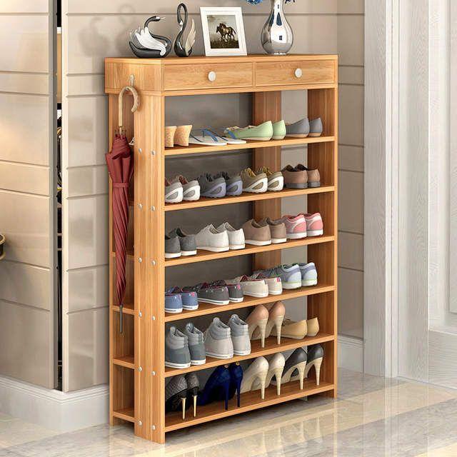 Moderne Holzerne Schuhregal Fur Wohnzimmer Korridor Staubdicht