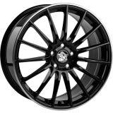 Ultra Wheels UA4 8,5x20 schwarz mit poliertem Rand
