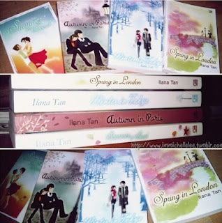 4 Season With Love Series : Summer in Seoul, Autumn in Paris, Winter in Tokyo, Spring in London by Ilana Tan