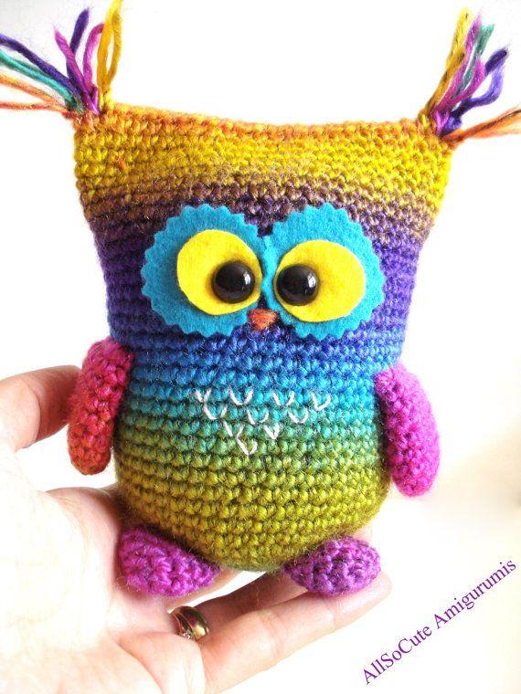 Crochet Pattern Owl Pattern Instant Download Crochet by AllSoCute