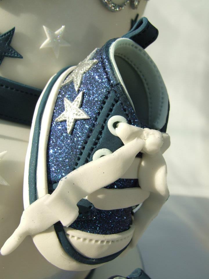 how to make a fondant shoe instructions