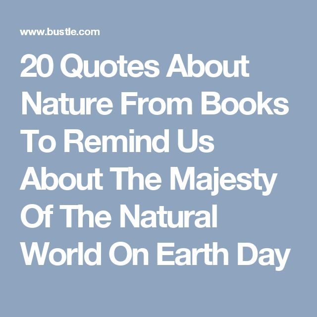 Best Nature Quotes: 17 Best Quotes About Nature On Pinterest