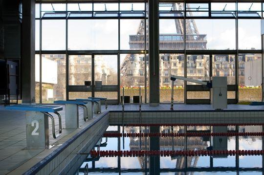 Paris compte, aujourd'hui, 45 piscines municipales et environ 150 piscines privées.