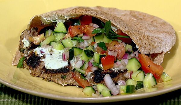 Daphne Oz's Turkish Burger recipe. #thechew
