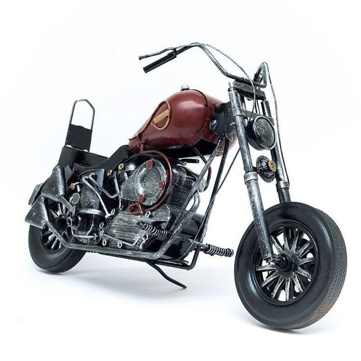 Miniatura Moto Kawasaki Vulcan Antiga - Machine Cult - Kustom Shop | A loja das camisetas de carro e moto