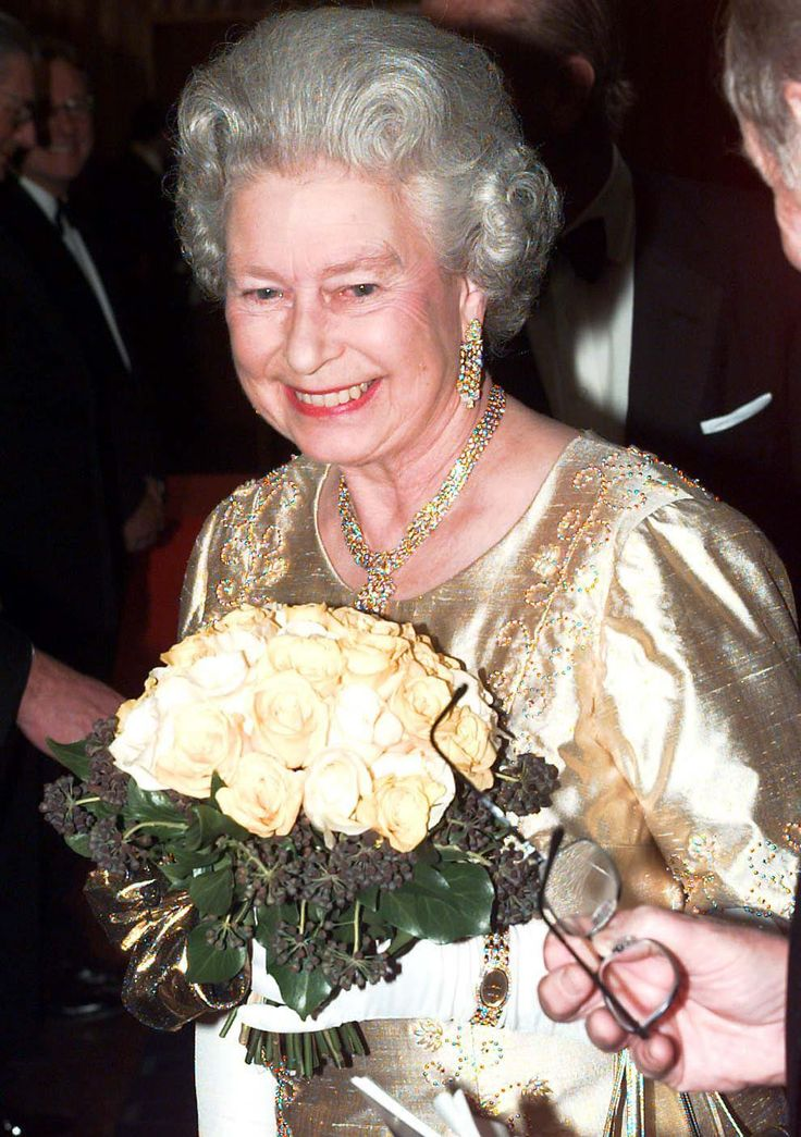Queen Elizabeth II celebrates her golden wedding
