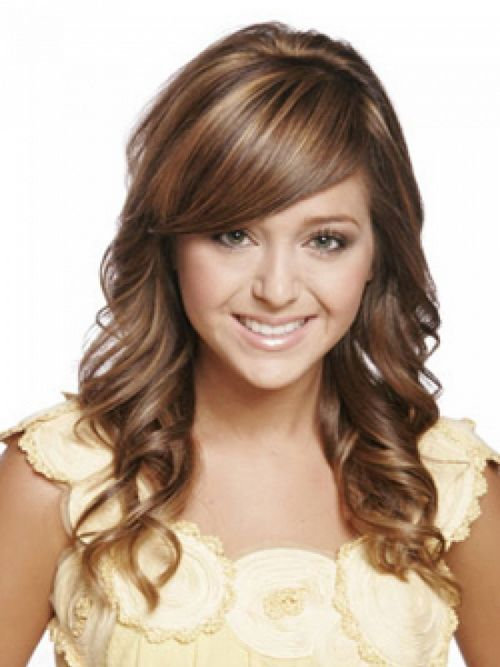 Casual Hairstyles For Ironing Curly Long Hair
