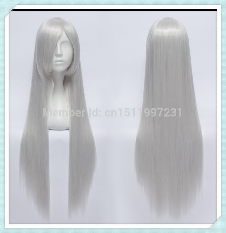 Find More Wigs Information about 80CM InuYasha Anna Kushina Long Straight Silver White Cosplay Wig,High Quality cosplay hair wig,China wig packaging Suppliers, Cheap wig orange from Dream Wig on Aliexpress.com