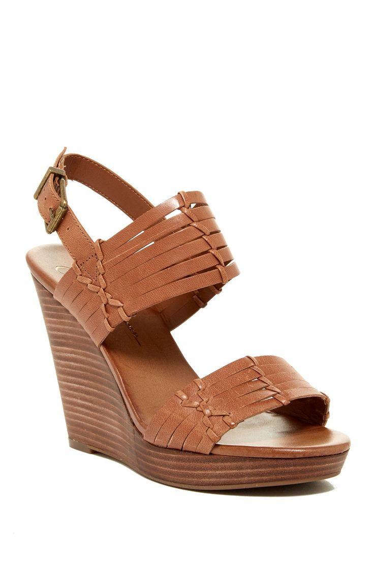 Jazmin Platform Wedge Sandal