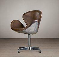 Devon Spitfire Leather Chair Chairs Restoration Hardware