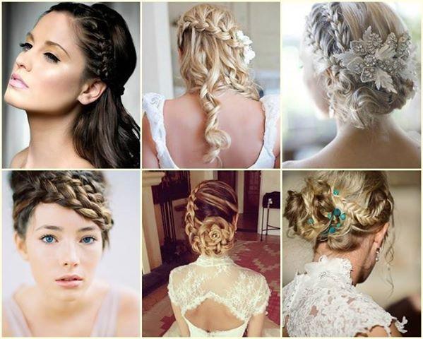 trenzas trenzas y ms trenzas peinados de novia diferentes que incluyen trenzas